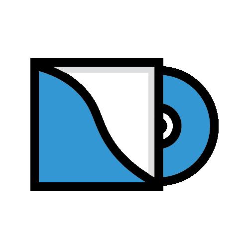 Icon of vinyl record