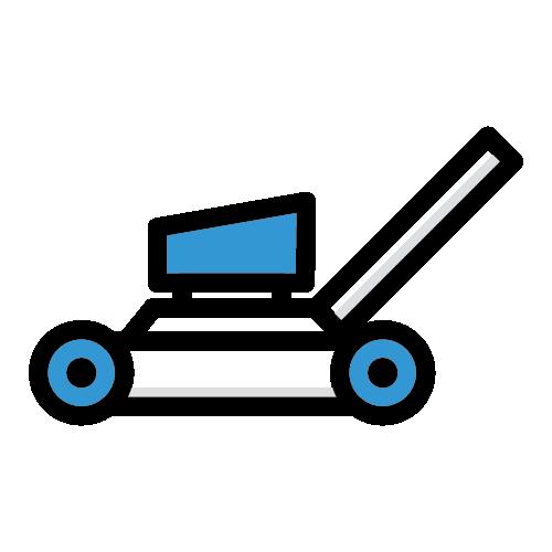 Icon of yard maintenance equipment